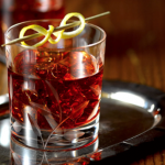 A Vieux Carre being served.