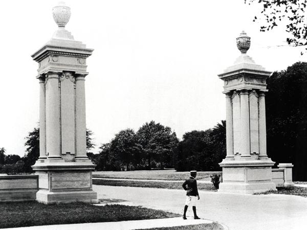 Audubon Park Entrance circa 1910s