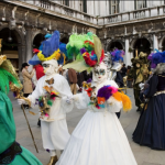 The most exquisite version of Mardi Gras celebrations takes place in Venice.