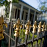 decorative fence with history and beauty