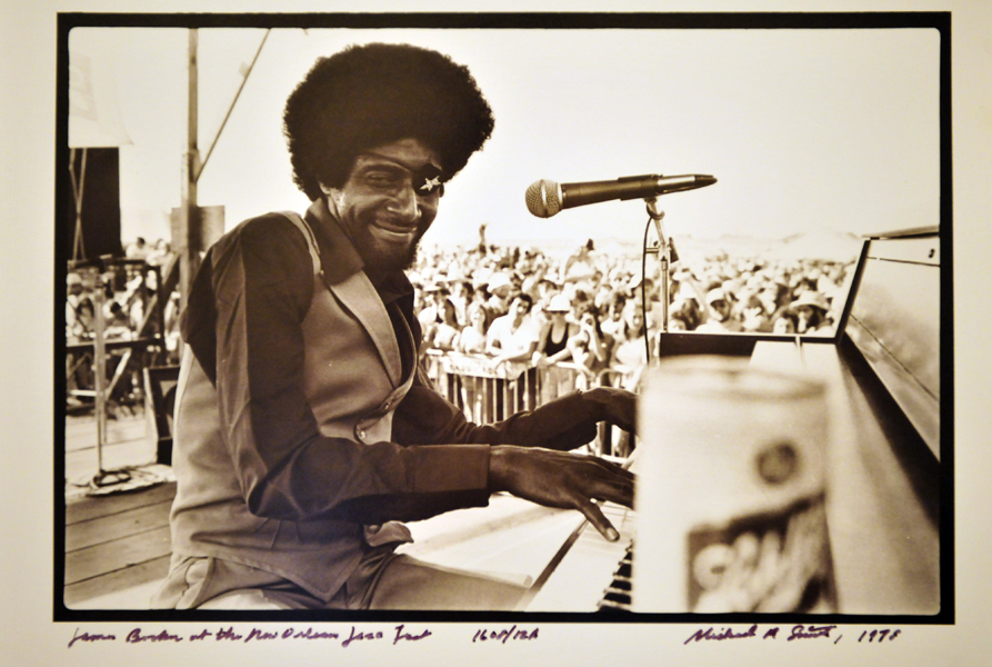 Photo Credit: The Historic New Orleans Collection. James Booker brought his signature style to Jazz Fest 1978.