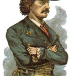 Sketch of Jean Lafitte.