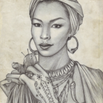 Portrait of Marie Laveau