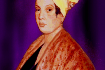 Marie Laveau, New Orleans' Voodoo Queen, is seen in her most famous portrait.