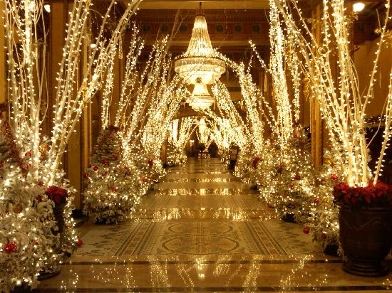 Lobby of the Roosevelt Hotel